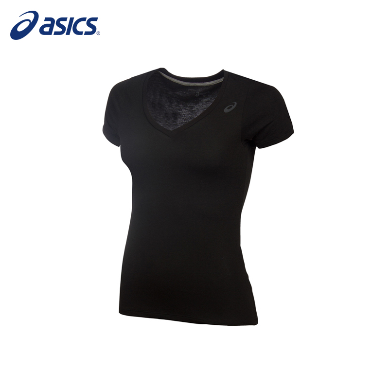 Female T-Shirt ASICS 141132-0904 sports and entertainment for women charming white cami tank and zipper fly bowknot lace t shirt for women