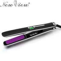 NewView Ceramic Hair Straightener Intelligent LCD Hair Straightening Flat Iron Professional Negative Ions Styling Tools