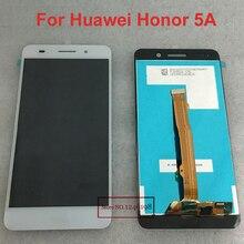 """5.5 """"pantalla lcd full + digitalizador de pantalla táctil para huawei honor 5a y6ii y6 ii cam-l23 cam-l03 cam-l21 cam-al00 cam-ul00 cam-tl00"""