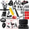 Gopro Accessories Set Helmet Harness Chest Belt Head Mount Strap For Go Pro Hero 3 4