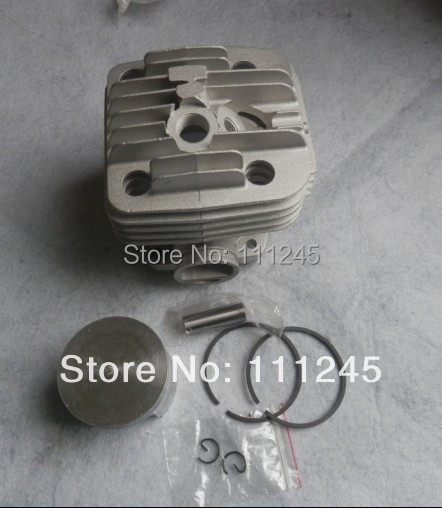 49MM CYLINDER  ASSY FOR CONCRETE SAW ST. TS400  ZYLINDER ASSEMBLY KOLBEN PISTON RING PIN CLIP KIT CHROME COAT CUT OFF SAW PARTS 38mm cylinder kit fits st fs220 fs 220 zylinder block piston ring clip pin kit trimmer zylinder assembly parts 4119 020 1204