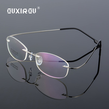 c061101f5f Buy titanium glasses frame for women brand and get free shipping on  AliExpress.com