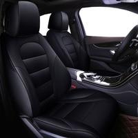 Авто универсальный натуральной кожи сиденья для Mitsubishi ASX outlander Lancer SPORT EX Зингер FORTIS автомобильные аксессуары для укладки