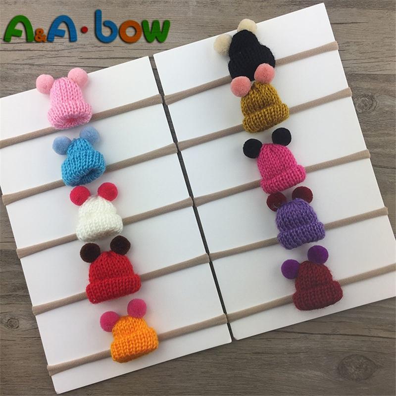 Pack of 10 Nylonbands Nylon Headbands for Baby Girls Craft DIY Hair Bows