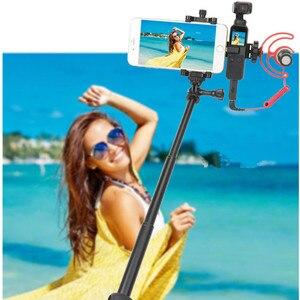 Image 5 - Pour Osmo moniteur de poche Microphone multi fonction support fixe support de montage de téléphone portable cardan accessoires dextension de caméra