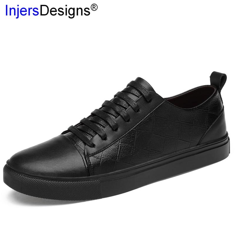 Sneakers Cuir Planche 46 Roulettes Chaussures Et Plat La Taille Mode Hommes Formateurs Black En Plus Classique Véritable À white 45 Blanc Respirant Noir Casual XU6wnq