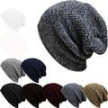 Marca capo gorros de punto sombrero del invierno Skullies sombreros de invierno para mujeres hombres Beanie exterior de esquí se divierte el casquillo gorros Cap