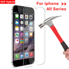 Protective Glass For Iphone 7 Plus Glass Protection On X 8 6 Plus 7plus 8plus 6plus 5 4 10 Tempered Glas Screen Protector Film