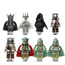 8pcs/Set Building Blocks Sets china brand The Lord of the rings The Hobbit Quit Ling Wang compatible with Lego
