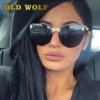 Old wolf 2017 горячие продаем моды medusa солнцезащитные очки женщины марка очки путешествия роза розовая дама очки моделям с подиума стиль sg058