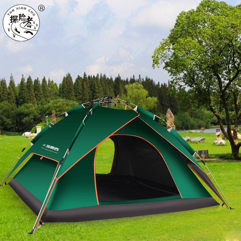 3-4 person automatic park picnic family party anti rain hiking cycling beach fishing mountaineering camping camping beach tent3-4 person automatic park picnic family party anti rain hiking cycling beach fishing mountaineering camping camping beach tent