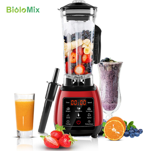 Image 1 - BPA FREE High Power Digital Touchscreen Automatically Program 3HP Blender Mixer Juicer Food Processor Ice Green Smoothie