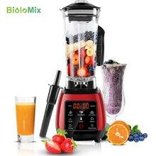 Bpa Gratis High Power Digitale Touchscreen Automatisch Programma 3HP Blender Mixer Juicer Keukenmachine Ijs Green Smoothie