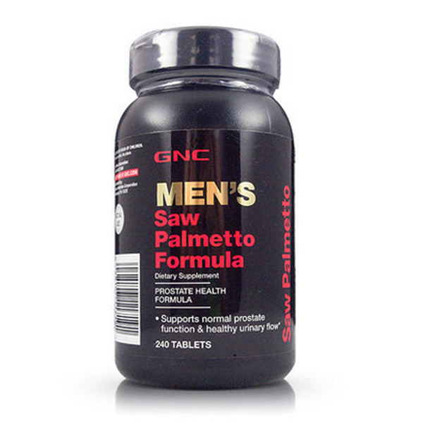 Men s Saw Palmetto Formula 240 pcs Supports normal prostate function free shipping