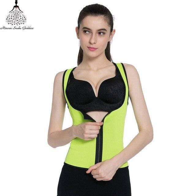 96cdf14e4f7 Waist Trainer 2018 hot Large size shapers slimming body shaper bodysuit  underwear Neoprene women shaper corsets waist cincher