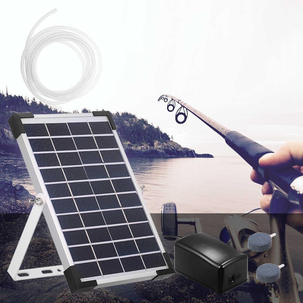 تعمل بالطاقة الشمسية مضخة أكسجين الأسماك خزان مكساج الحوض الأكسجين مهوية بركة مهوية مضخة هواء الصيد مهوية حوض مضخة هواء