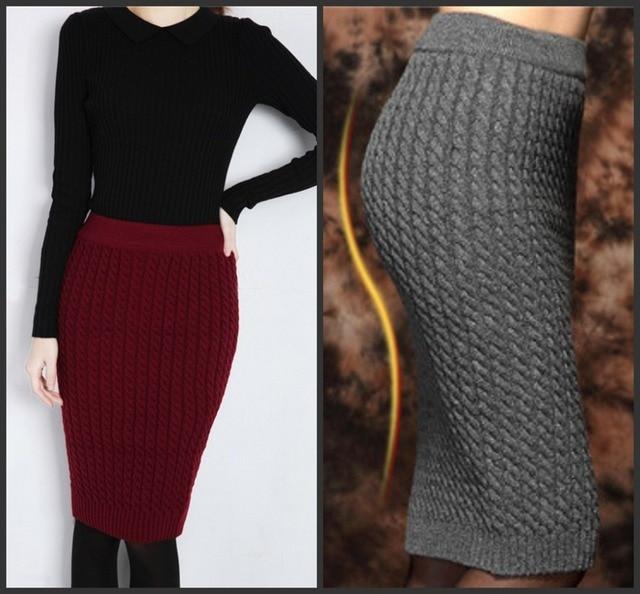 Aliexpress.com : Buy Autumn&Winter Casual Womens High Waist Knee ...