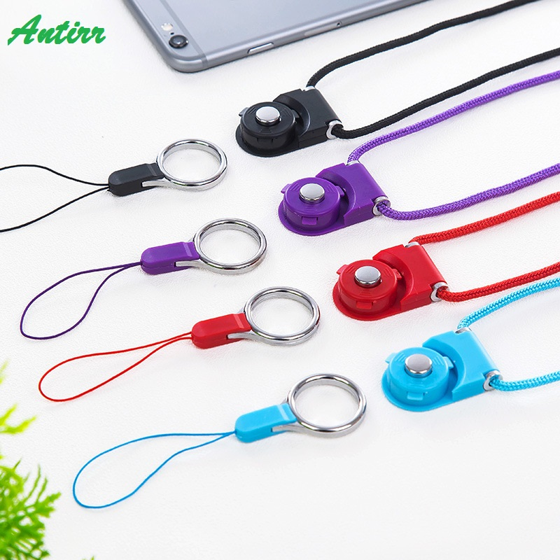 Multi-function Mobile Phone Straps Rope For Samsung Galaxy S6 S7 Edge Plus Iphone 6 Plus Lanyard Neck Strap Phone Decoration