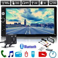 2 DIN 7 Inches 1080P HD Car MP5 Player Touch Screen Bluetooth AV Remote Control