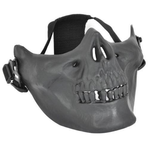 LHBL-Airsoft Mask Skull Skeleton Airsoft Paintball Half Face Protect Airsoft Mask ...