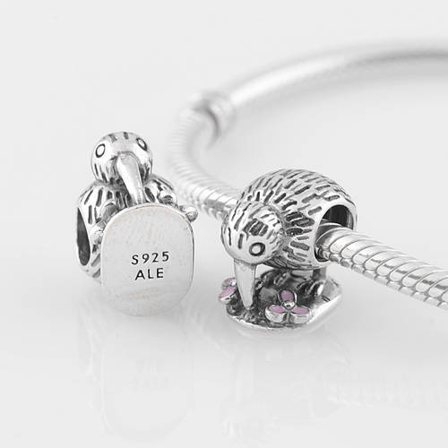 6693eb7b3 ... sale the eagle pecking 925 sterling silver jewelry promotion lw274 srew  thread charm beads compatible with