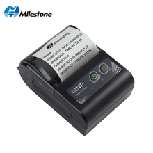 Milestone 2inch Mini Bluetooth Receipt Printer Thermal Portable Wireless bill ticket Android IOS Pocket Printer small MHT-P10 цены онлайн