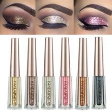 Metal Liquid Eyeshadow Diamond Glitter Eye Shadow Makeup Pigments Shimmer Cosmetic For Girl By HANDAIYAN