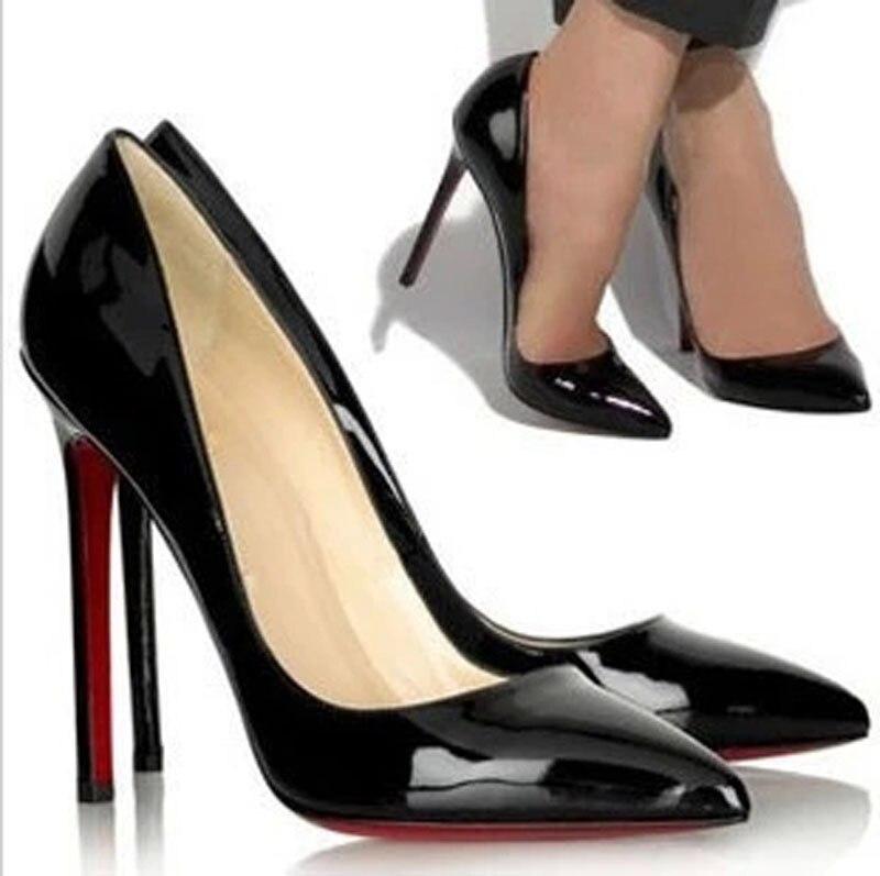 Chaussures à bout pointu noires Fashion femme 6eQjtr3mU