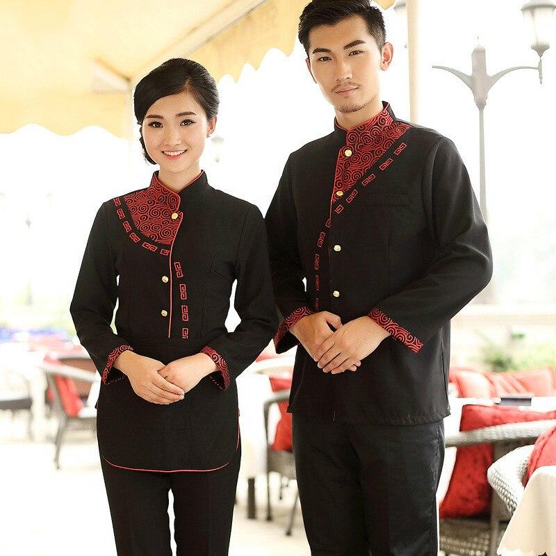 Online Buy Wholesale restaurant hostess uniform from China  : Long Sleeve Work Wear font b Restaurant b font font b Uniform b font Waitress font from www.aliexpress.com size 800 x 800 jpeg 155kB