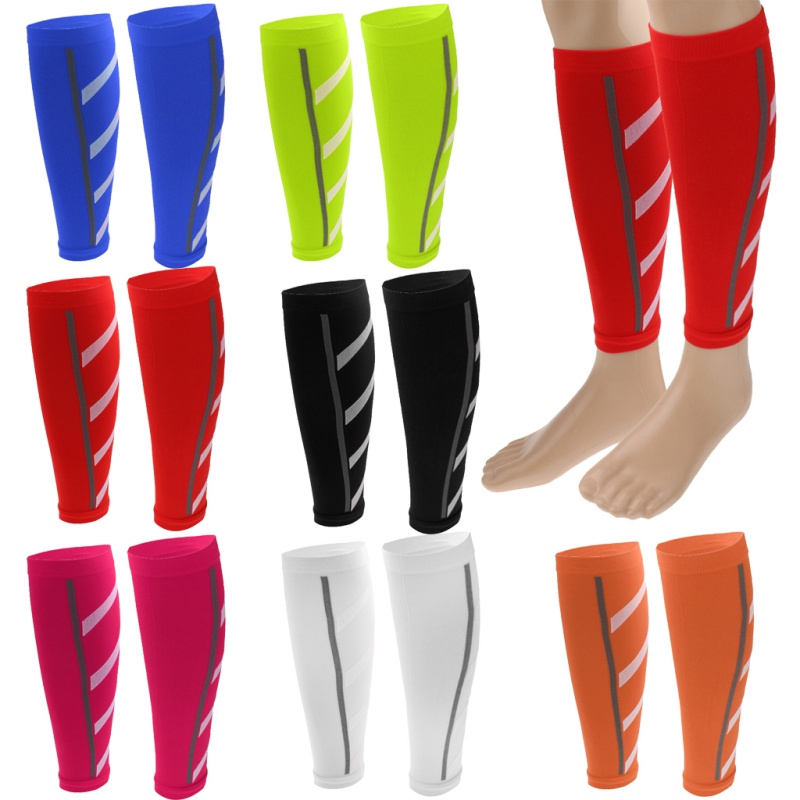 Running Athletics Compression Sleeves Leg Calf Shin Splints Elbow Knee Pads Protection Sports Safety Unisex