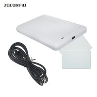 Free shipping 902 928MHz usb reader writer UHF rfid writer&reader for access control system with sample card test