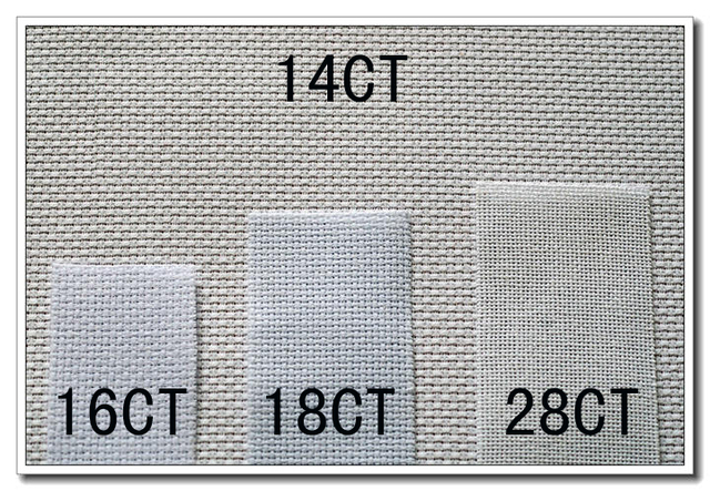 Aliexpress com : Buy oneroom Top Quality evenweave 28CT 28ST cross stitch  canvas cloth embroidery fabric white color, 28ct evenweave from Reliable