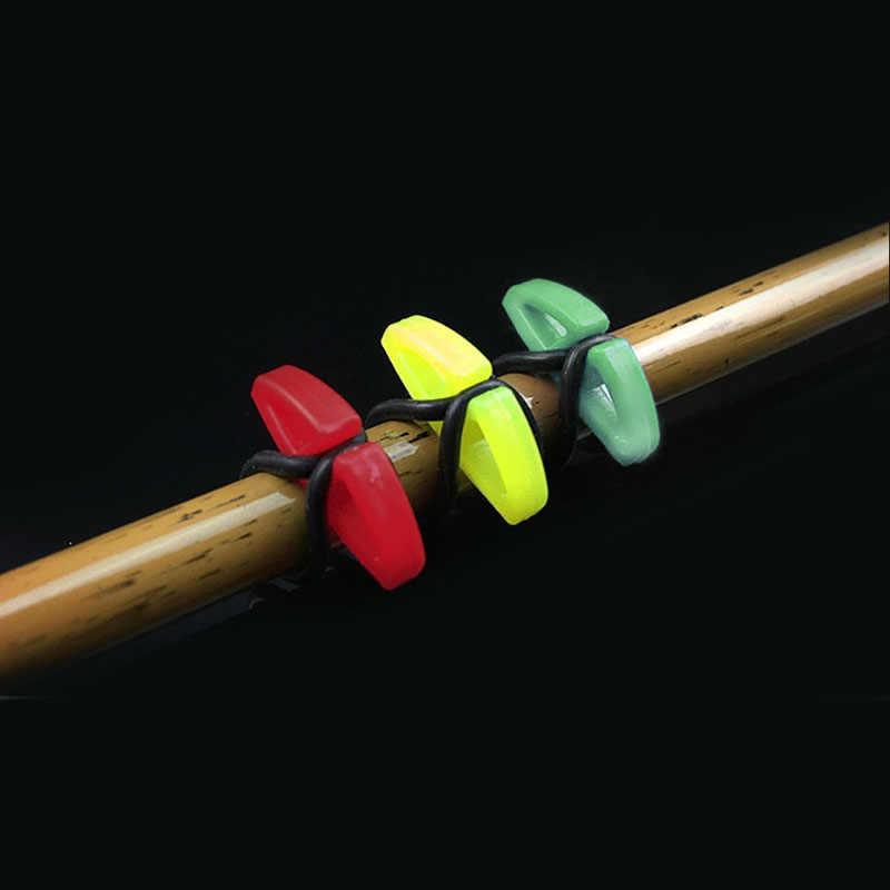 OOTDTY 4 sztuk hak bezpieczne uchwyty na przynęty przynęta typu jig bezpieczne trzymanie Fr wędka nowy hak wieszak