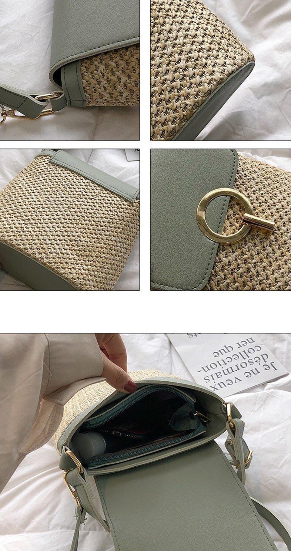 Straw Bucket Bag (3)
