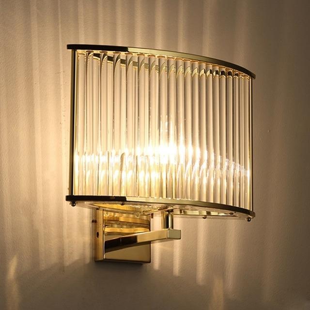 LED Art deco lamp wall lamp Modern Wall Lamp Glass Sconce Luminaire ...