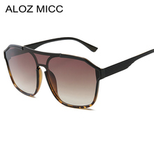 ALOZ MICC Oversized Square Sunglasses Women 2019 New Ladies Brand Designer Acetate Sun Glasses Men Vintage Shades UV400  Q199
