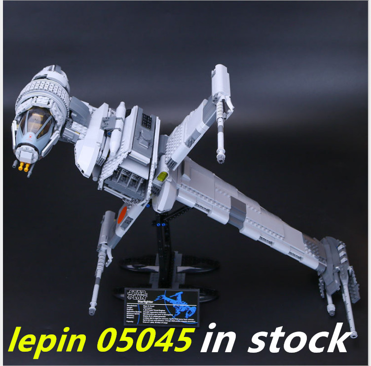 Lepin Star Wars 05045 compatible legoing 10227 starwars Starfighter a wing The B Educational Building Blocks Bricks 05132 05077 игрушка на радиоуправлении xwing starfighter star wars