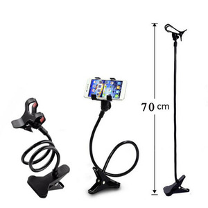 Universal Cell Phone holder Flexible Long Arm lazy Phone Holder Clamp Bed Tablet Car Mount Bracket For iPhone XS X Samsung(China)