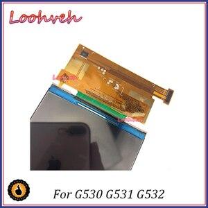 Image 3 - 10 sztuk/partia 5.0 wysokiej jakości dla Sumsung Galaxy Prime G530 G531 G532 Panel LCD części zamienne ekran LCD