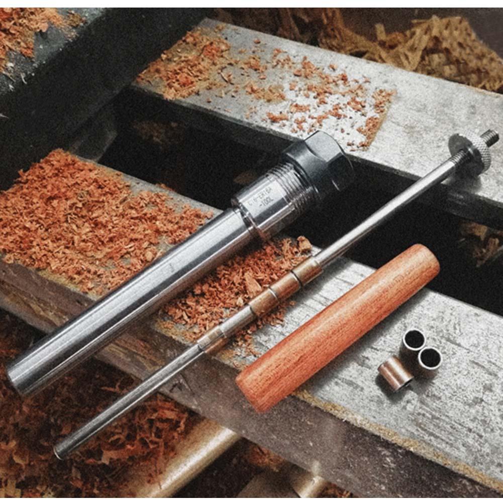 Rotarys Top Lathe Machine Revolving Centre Wood Turning Ballpoint Pen Mandrel Taper/Straight Shank
