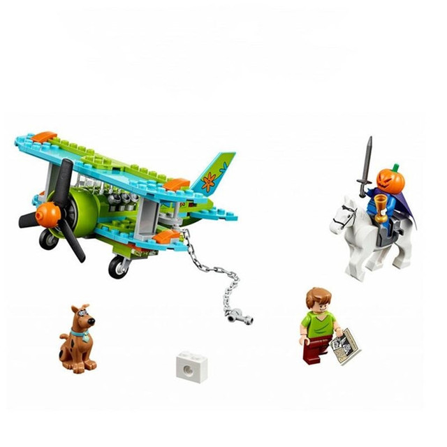 10430 10428 With Legoinglys Scooby Doo The Mystery Machine Building Block Toys Set Bricks educational For Children 4