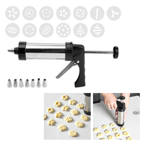 DIY Cookie Pastry Tools Kit Christmas Biscuit Mold Stainless Steel Icing Piping Nozzles Cake Decorative Tools for Kitchen Baking