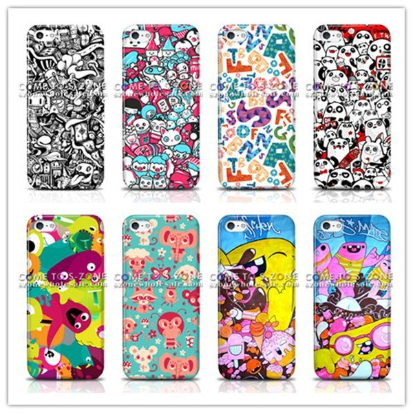free shiping for iPhone5 5G Customer Design Color Print Hard back mobile/cell phone case (100PCS/lot)