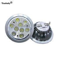 Tanbaby DC12V AR111 Led Light Spot Lamp 5W 7W 9W 12W White Warm High Power Led