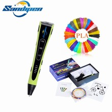 Sandipen Original Multi Filament 3D Drawing Pen Painting 6th Generation Creative Toy Gift For Kids Design with gift P6404