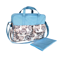 New Fashion Multifunctional Waterproof Baby Diaper Tote Handbag Mother Maternity Baby Nappy Changing Bag