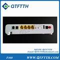 Original zte f460 zxa10 epon onu con 4 puertos lan 2 puerto de voz + 1 wifi, interfaz de inglés