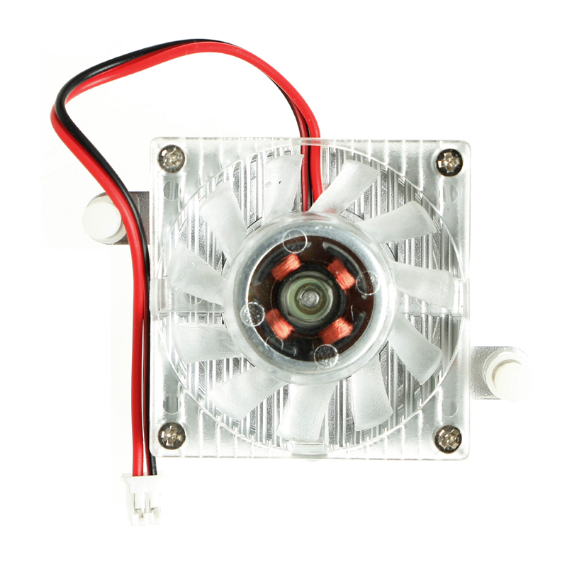 2-Pin 40mm PC GPU VGA Video Card Heatsink Cooling Fan Replacement 12V 0.10A #L059# new hot qqv6 aluminum alloy 11 blade cooling fan for graphics card silver 12cm