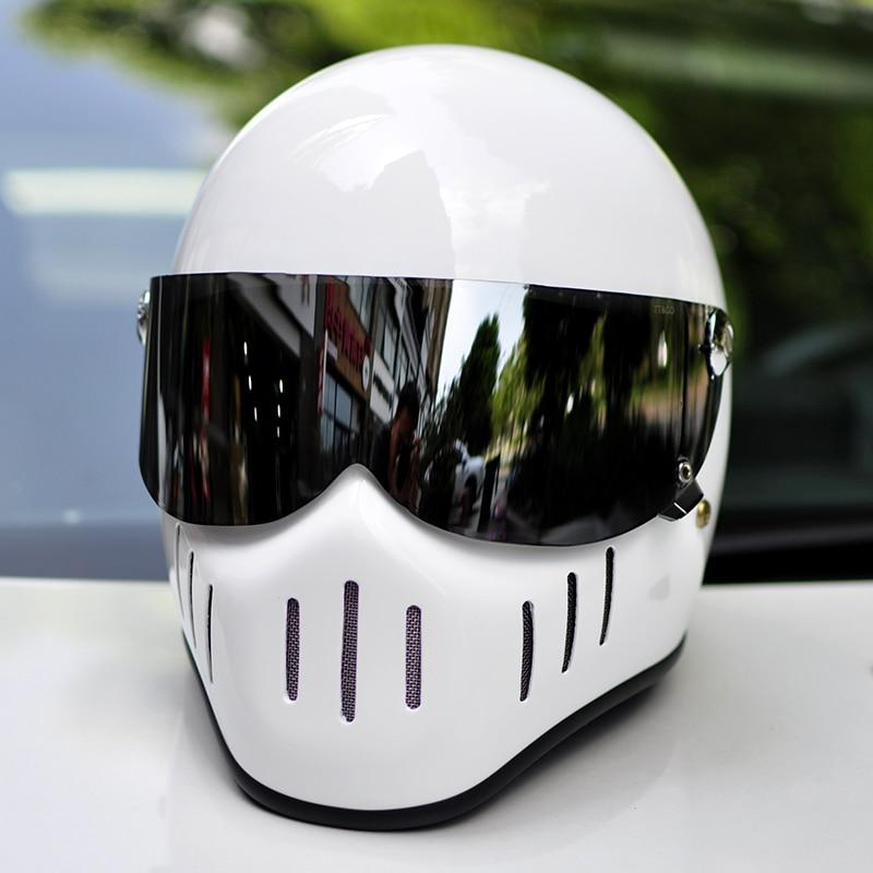 TT CO Full Face Motorcycle Helmet Face Shield Thompson TT02 /TT04/TTRT/MJET Black Clear Silver Yellow Replacement Visor