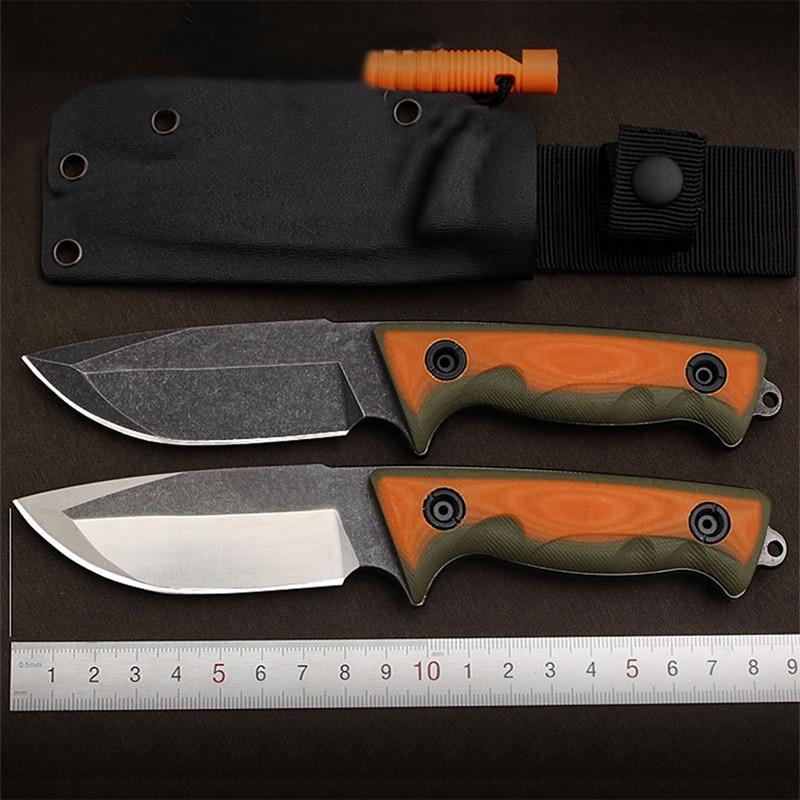 free shipping senior The sharp D2 hunting survival tactics folding knife hardness 60 HRC EDC tool
